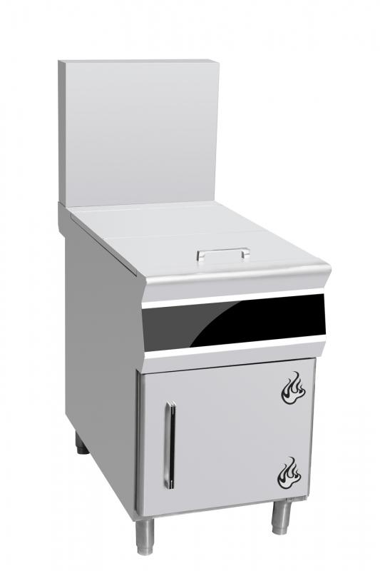带储物柜整体不锈钢料台